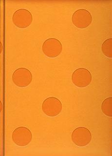 Livre Journal Dots Cantaloupe Lg Embossed Messageries Adp