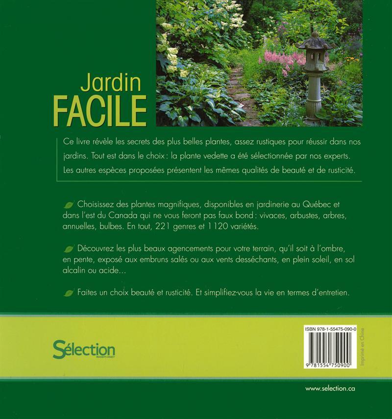 Livre jardin facile messageries adp for Jardin facile