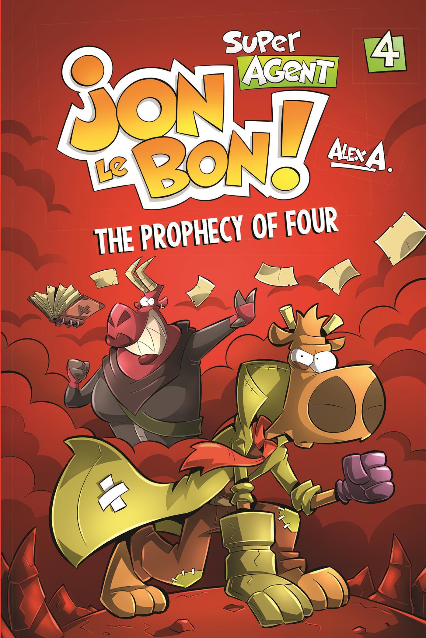 Super Agent Jon Le Bon ! - Nº 4