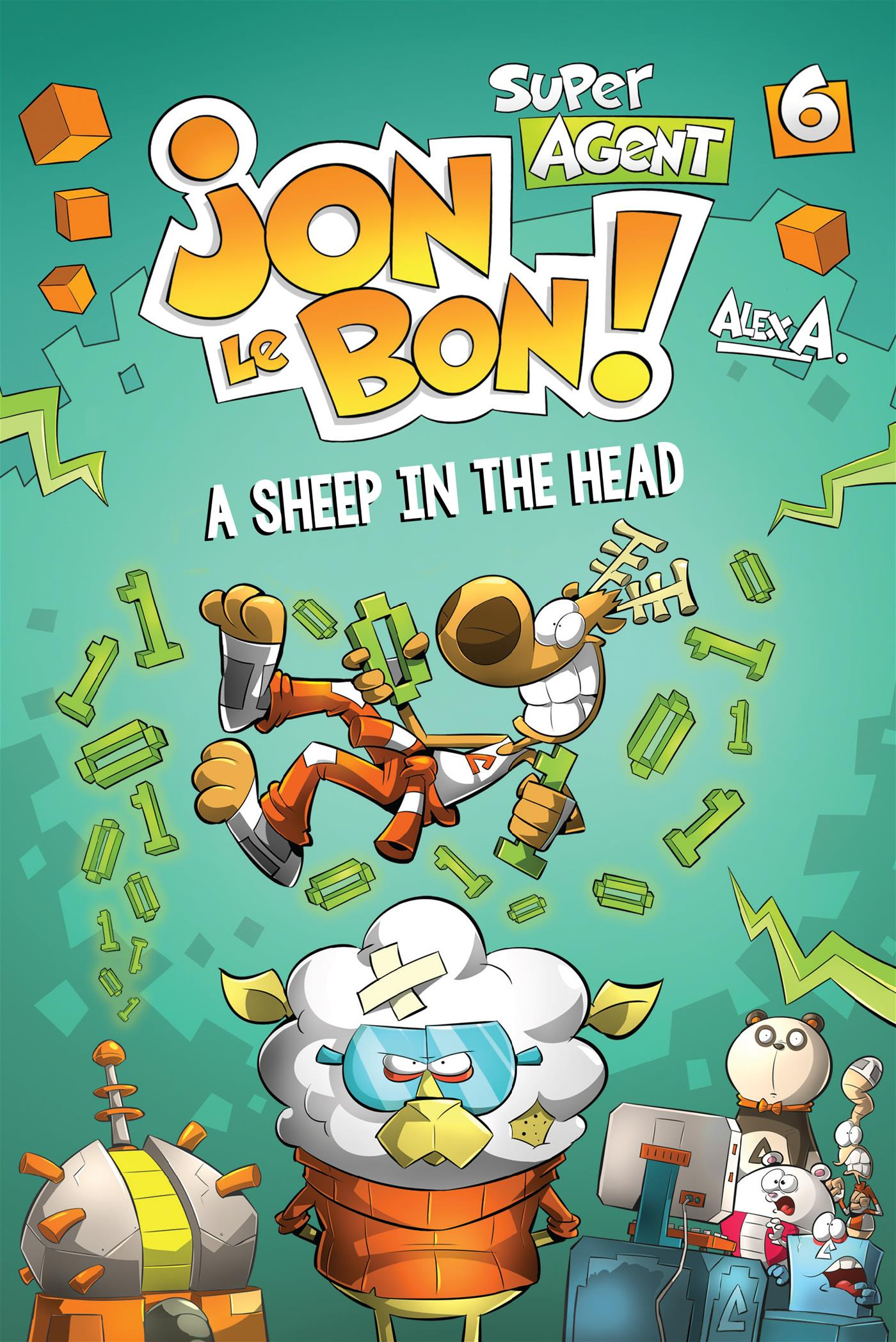 Livre Super Agent Jon Le Bon ! - Nº 6 - A sheep in the