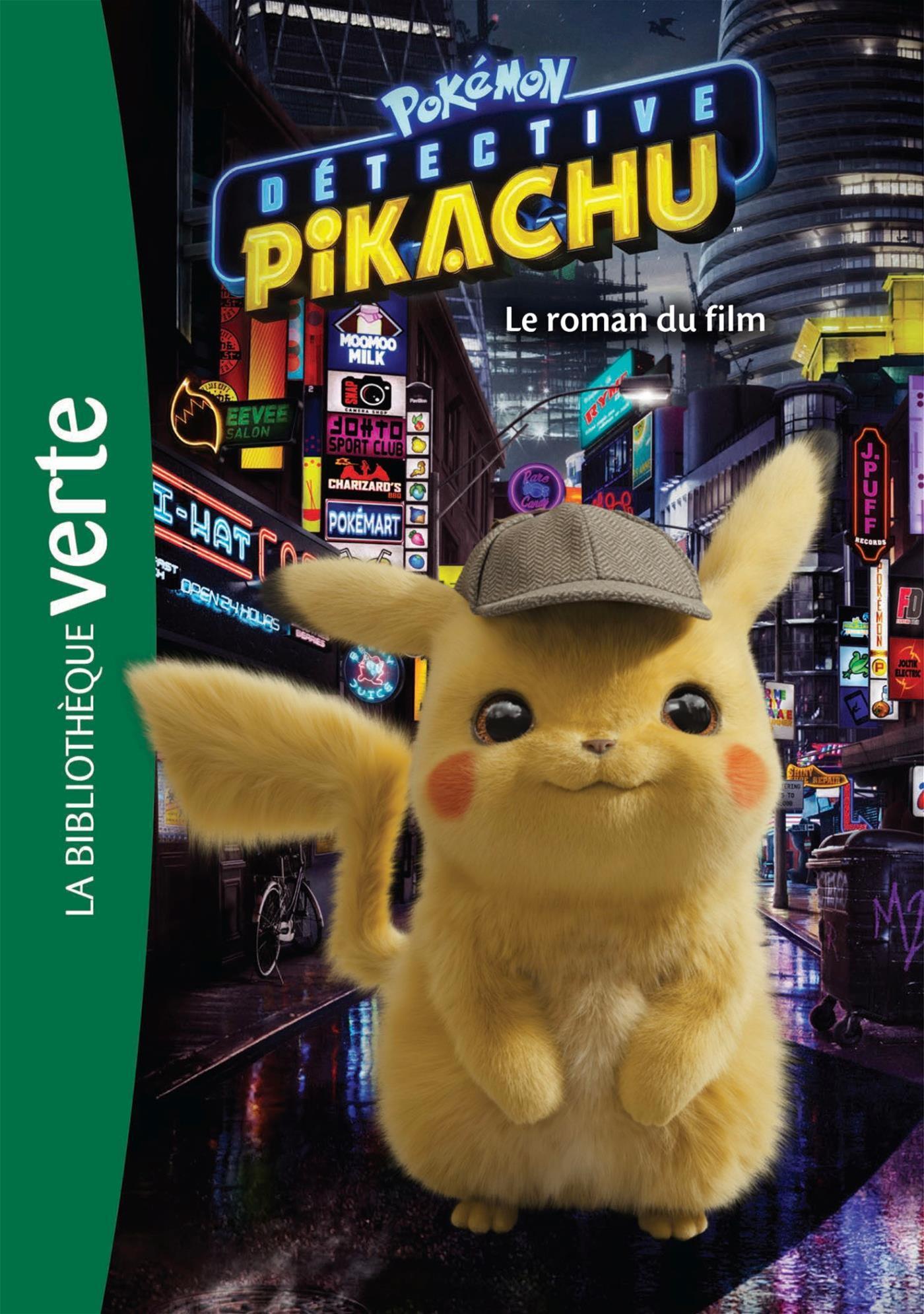 Livre Pokemon Detective Pikachu Le Roman Du Film