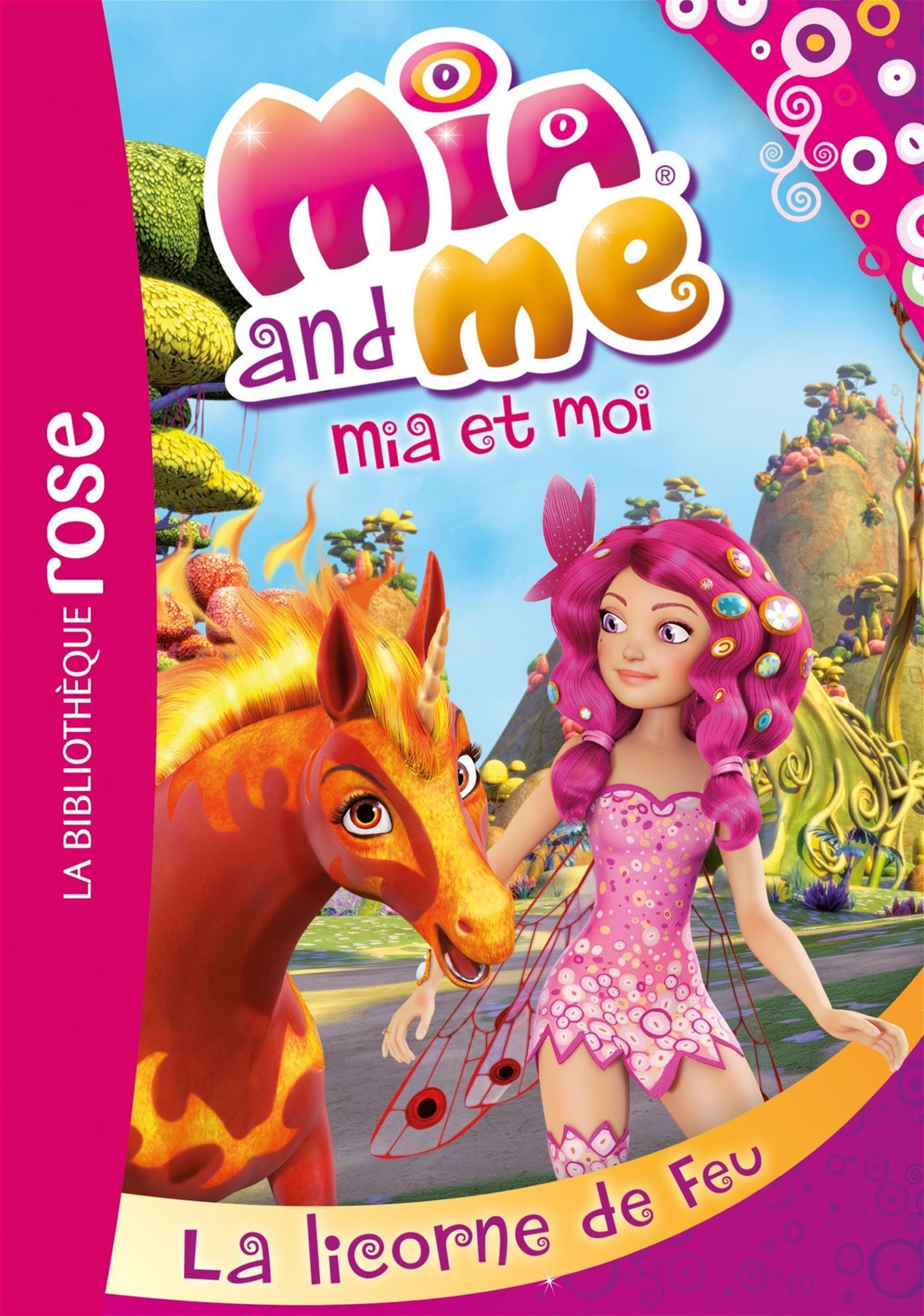 Livre Licorne De Feu T10 Messageries Adp