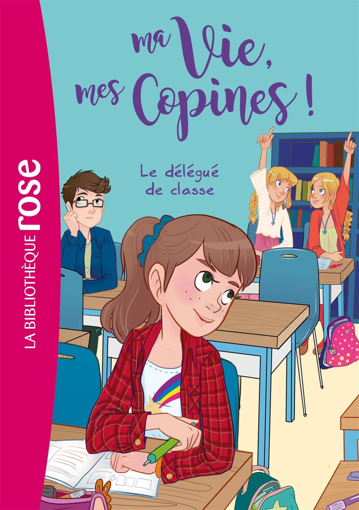 Livre Ma Vie Mes Copines T02 Messageries Adp