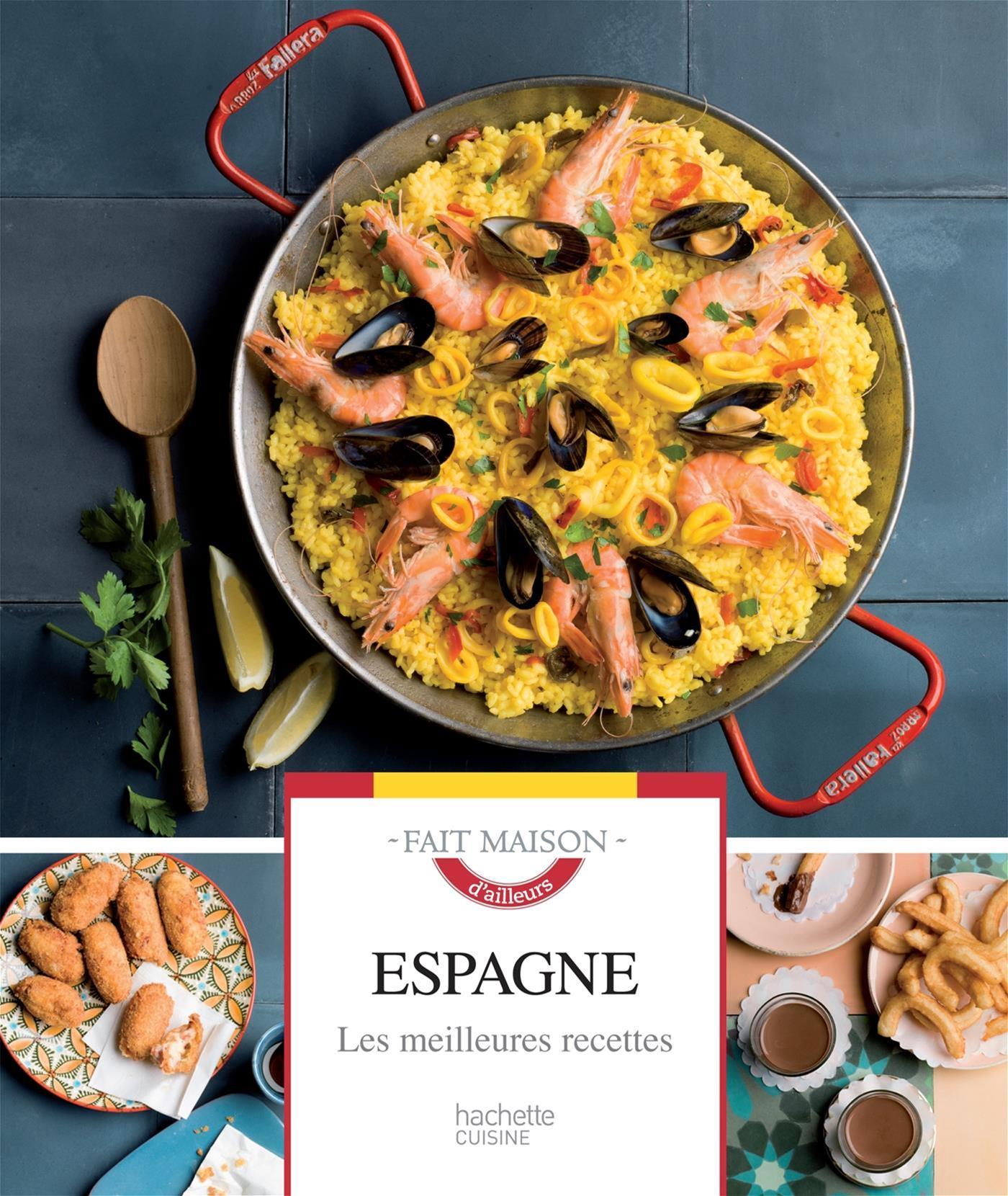 Livre Espagne Fait Maison Messageries Adp
