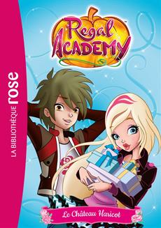 Livre Regal Academy T03 Chateau Messageries Adp
