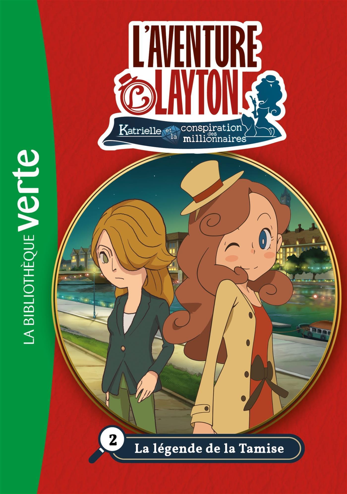 Livre L Aventure Layton T02 Legende De Tamise La Legende