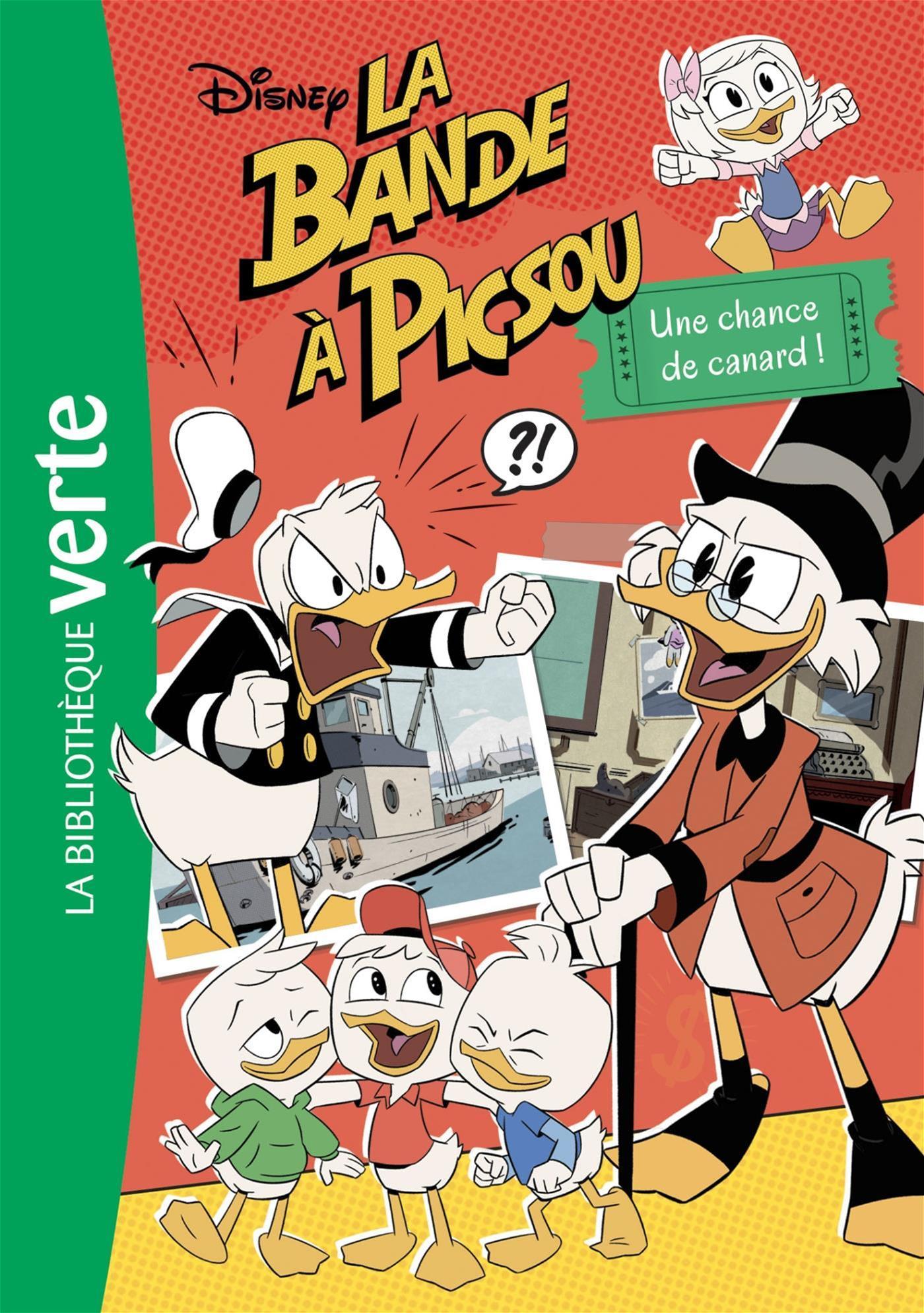 Livre La Bande A Picsou Nº 6 Une Chance De Canard