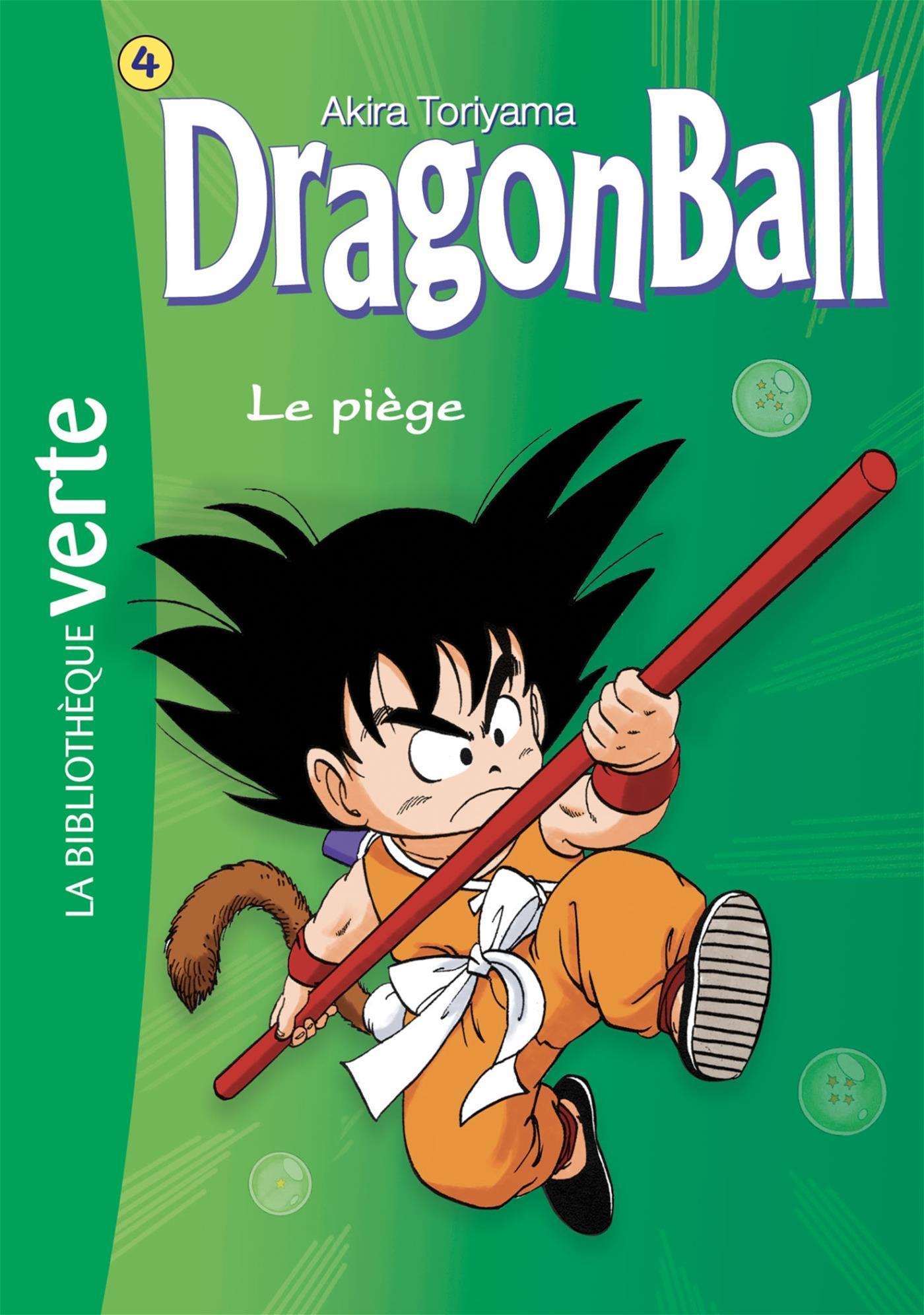 Livre Dragon Ball Nº 4 Le Piege Messageries Adp