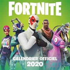 Livre Fortnite Calendrier 2020 Messageries Adp