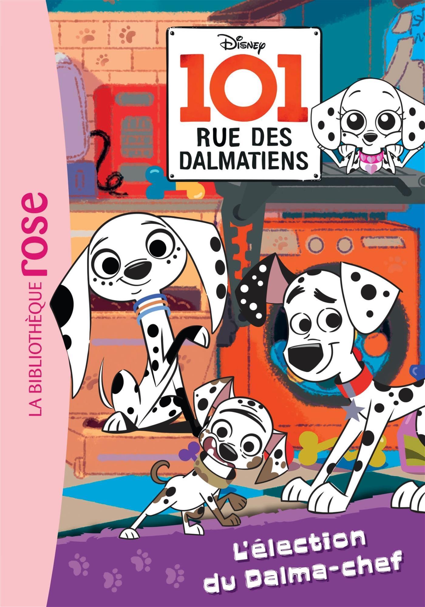 Livre 101 Rue Des Dalmatiens T02 Election Messageries Adp