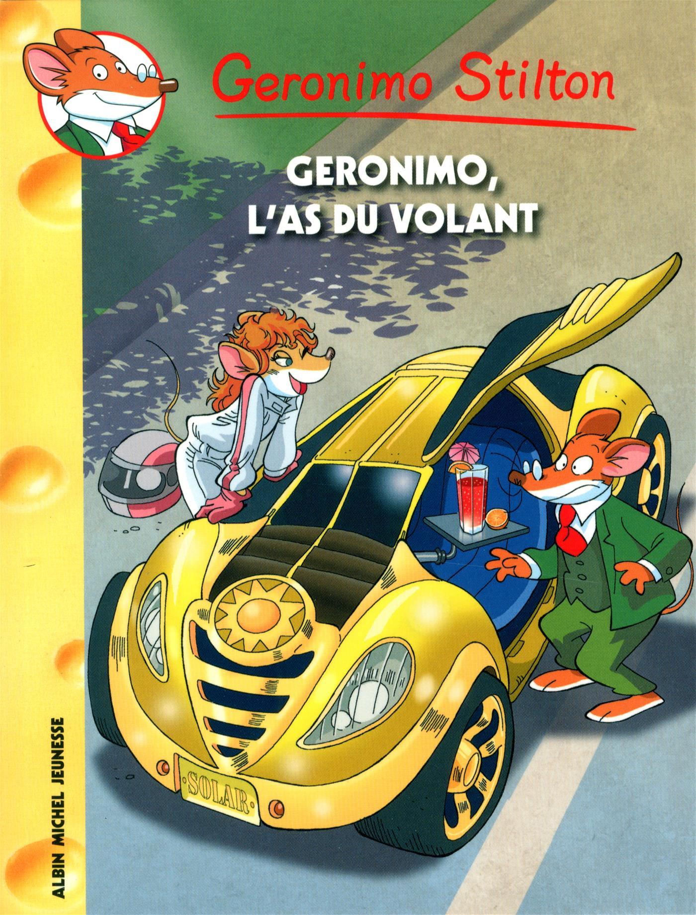 Livre Geronimo L As Du Volant Nº 69 Messageries Adp