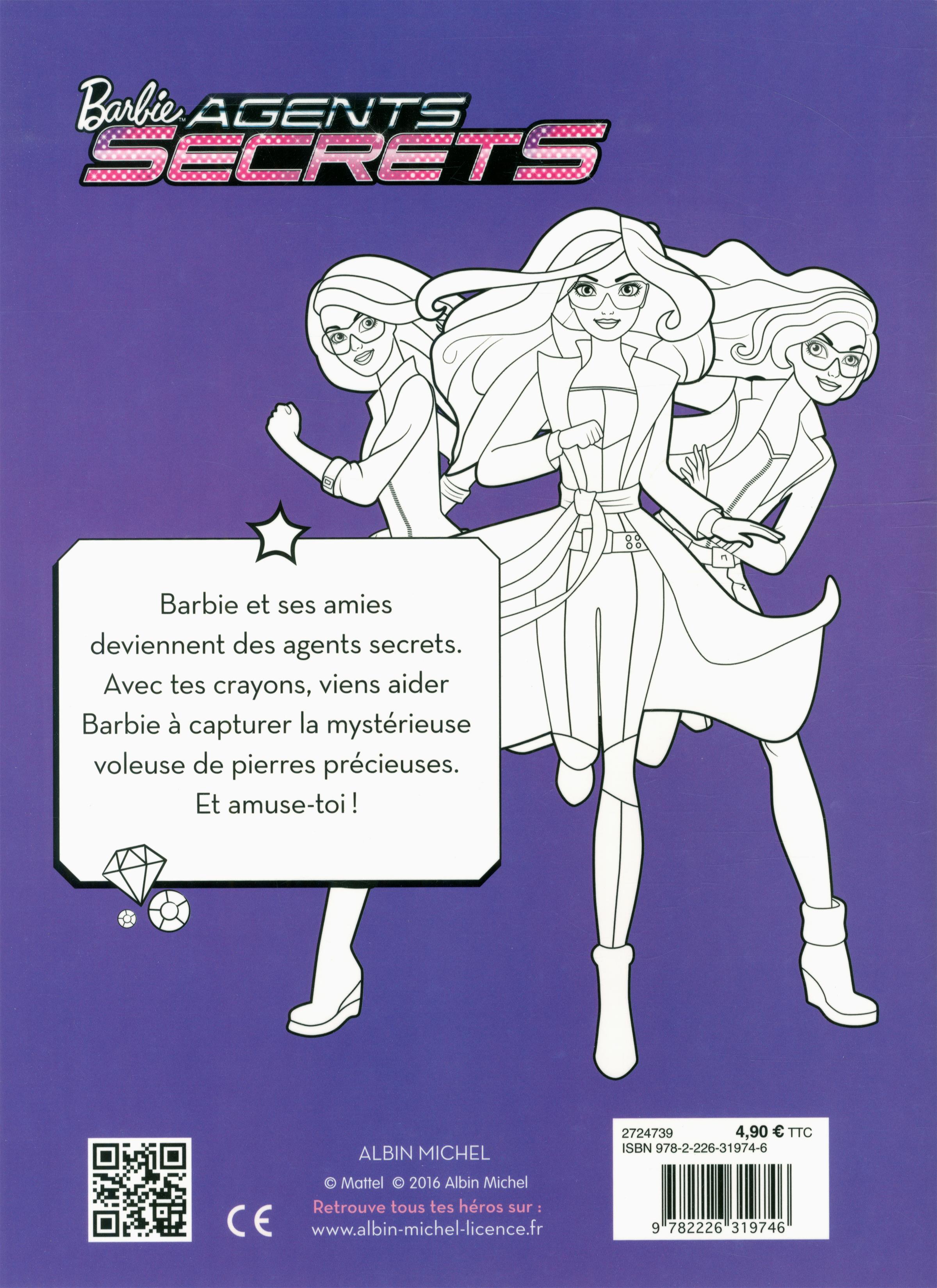 Impressionnant Dessin A Imprimer Barbie Agent Secret