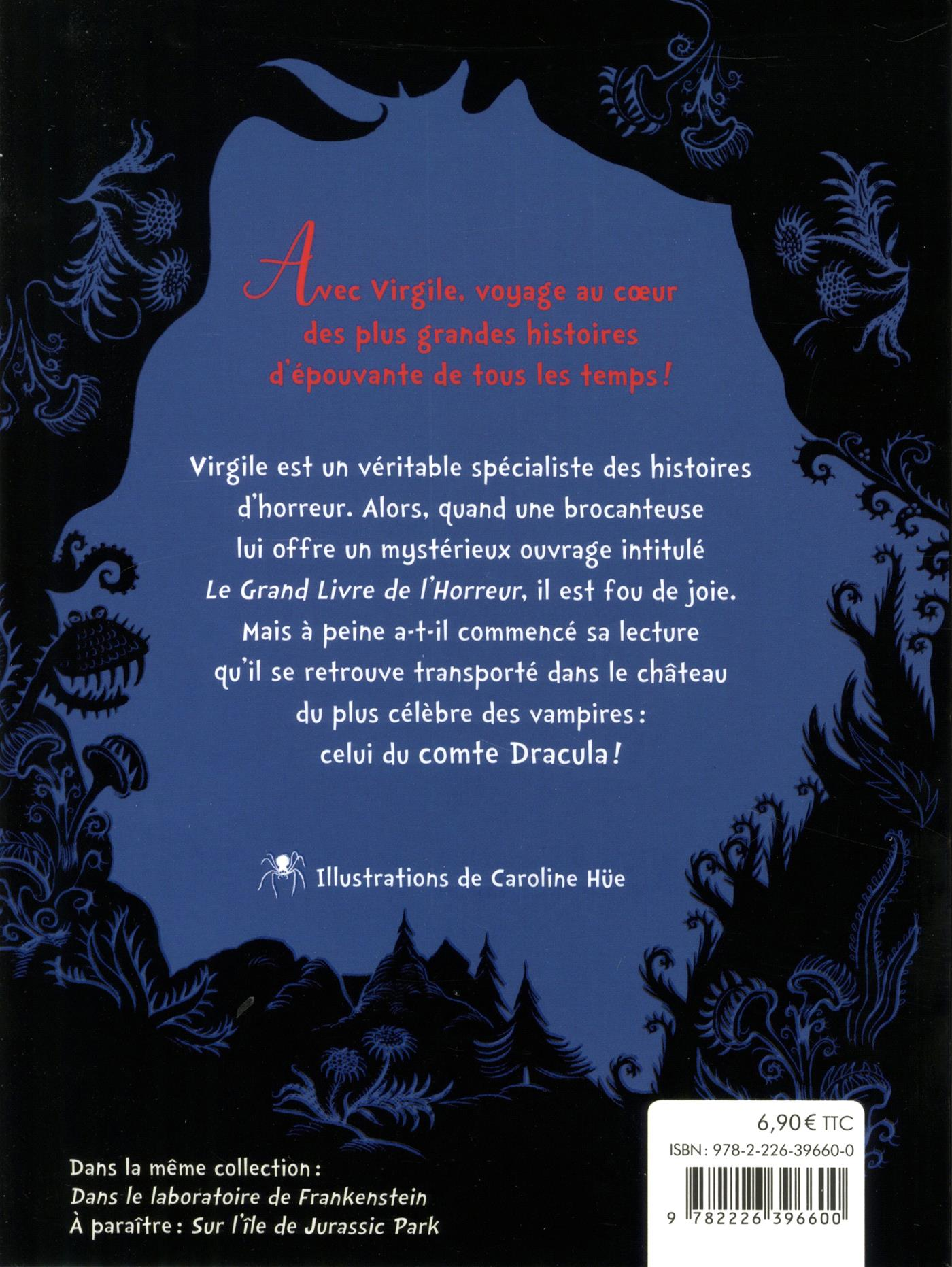 Livre Dans Le Chateau De Dracula Nº 1 Messageries Adp