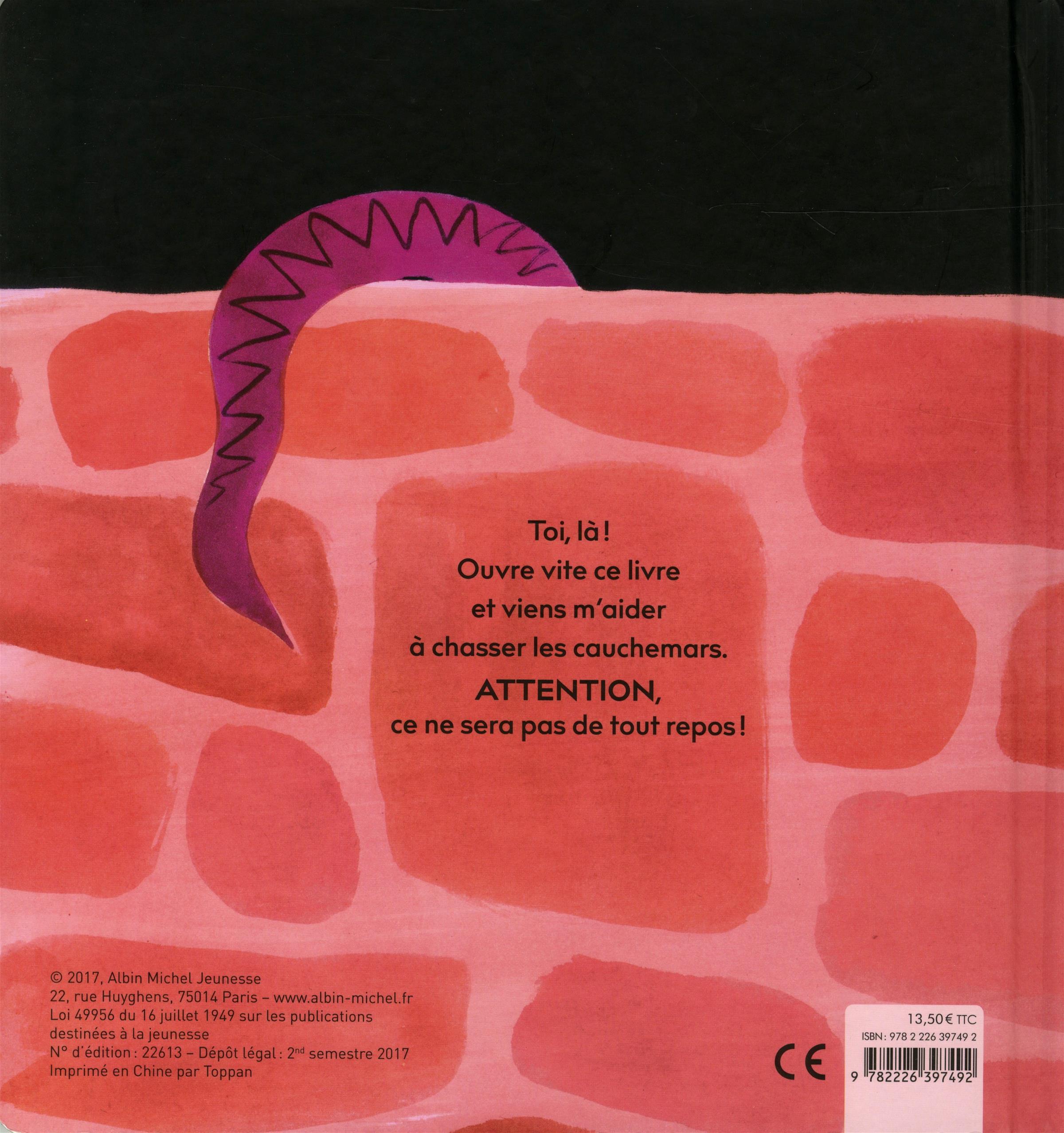 Livre Le Livre Qui Fait Peur Aux Cauchemars Messageries Adp