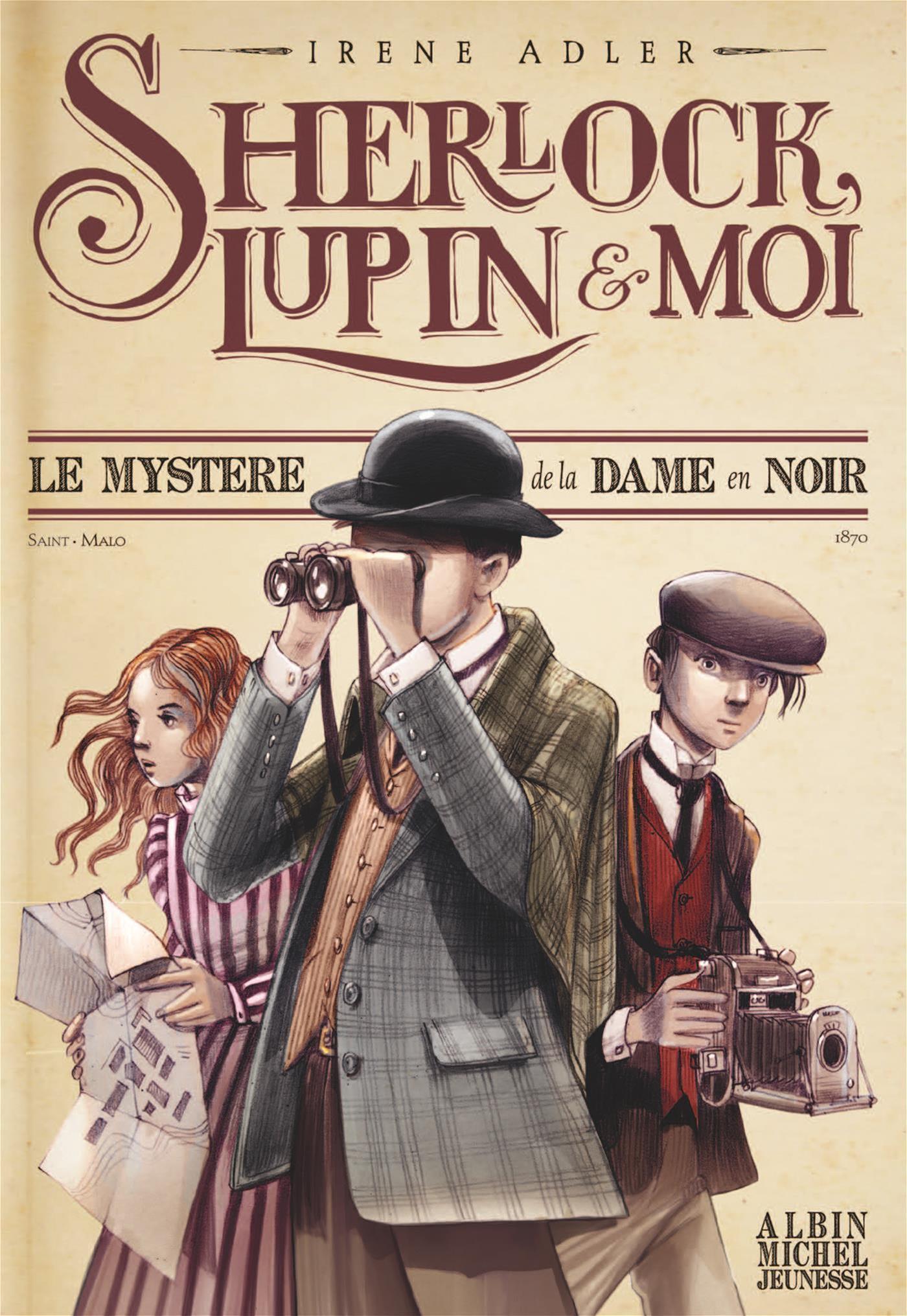 Le Sherlock, Lupin et moi T1