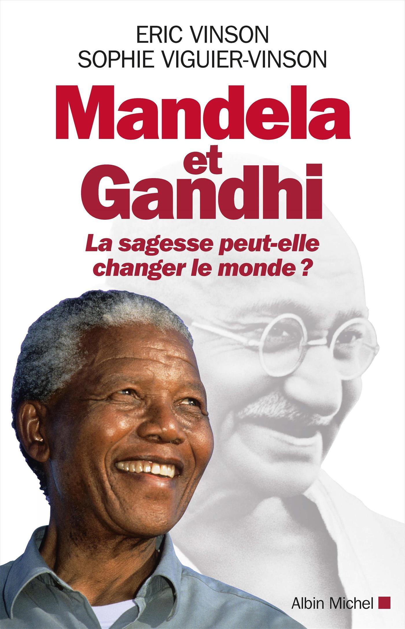 Mandela et Gandhi