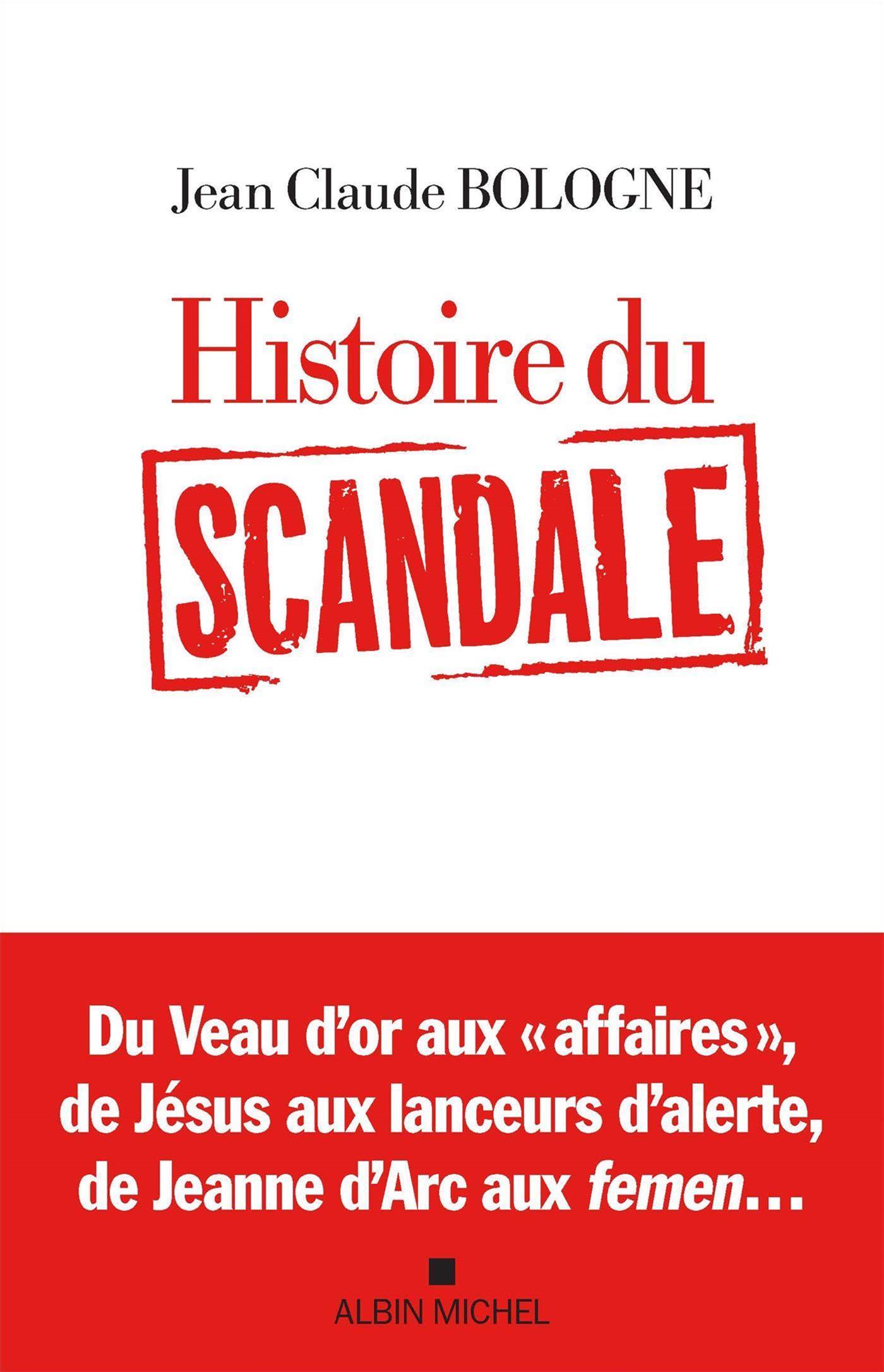 Histoire du scandale