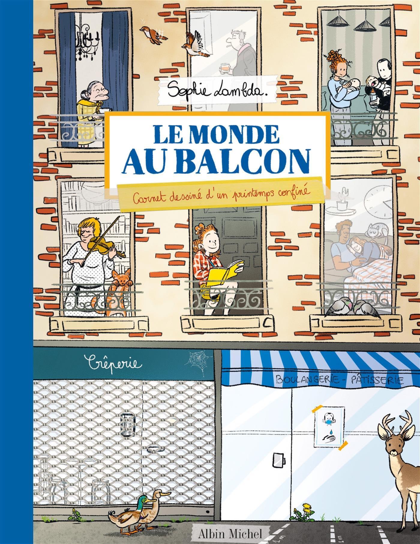 Image de couverture (Le Monde au balcon)