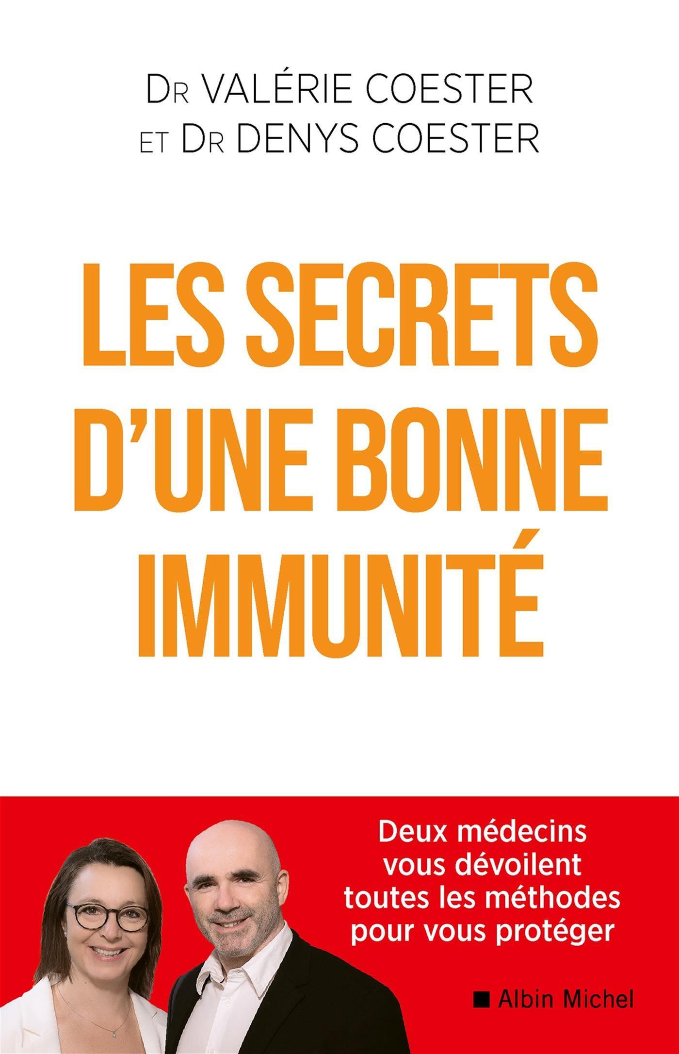 Image de couverture (SECRETS D'UNE BONNE IMMUNITE -LES)