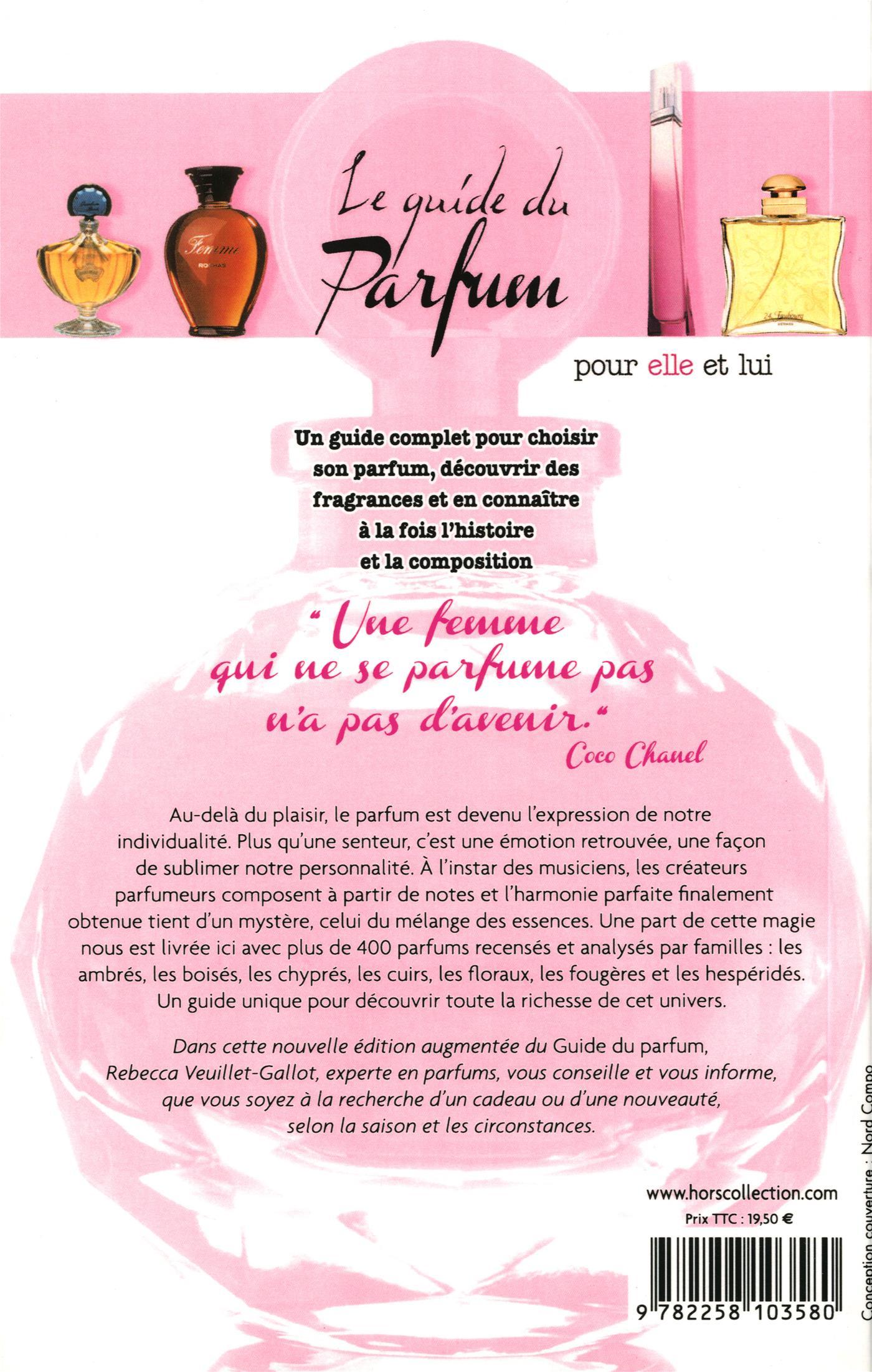 Livre Le guide du parfum - pour elle et lui   Messageries ADP