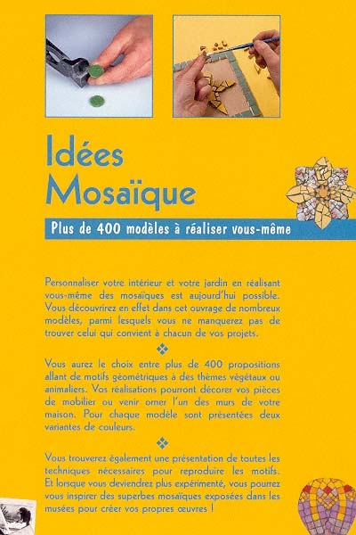 Livre Idées mosaïque | Messageries ADP