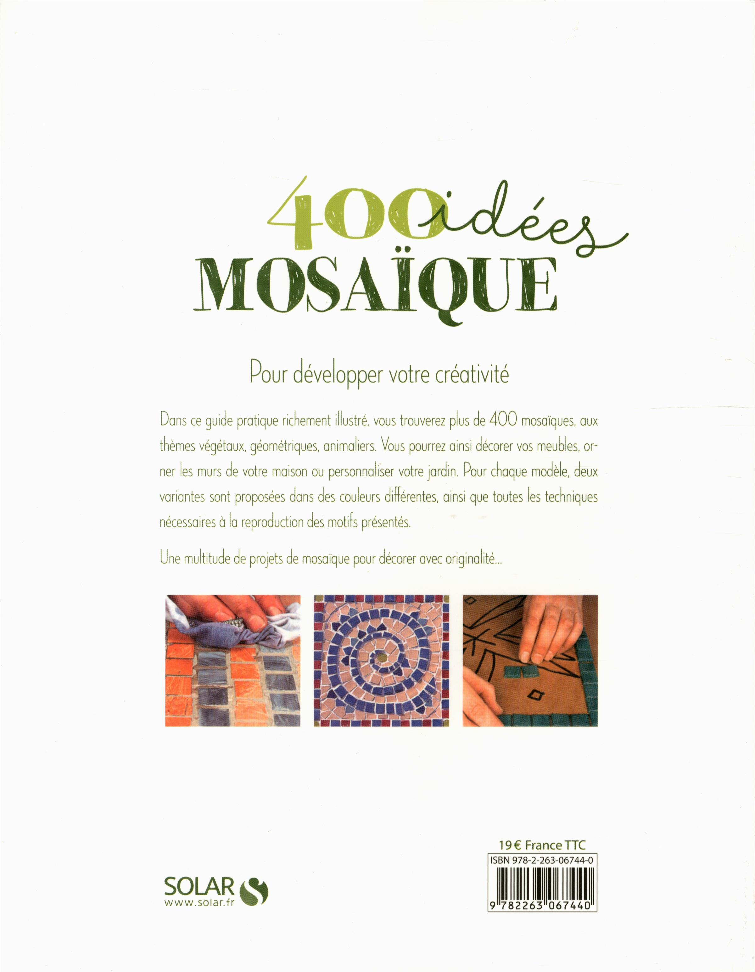 Livre 400 idées mosaïque   Messageries ADP