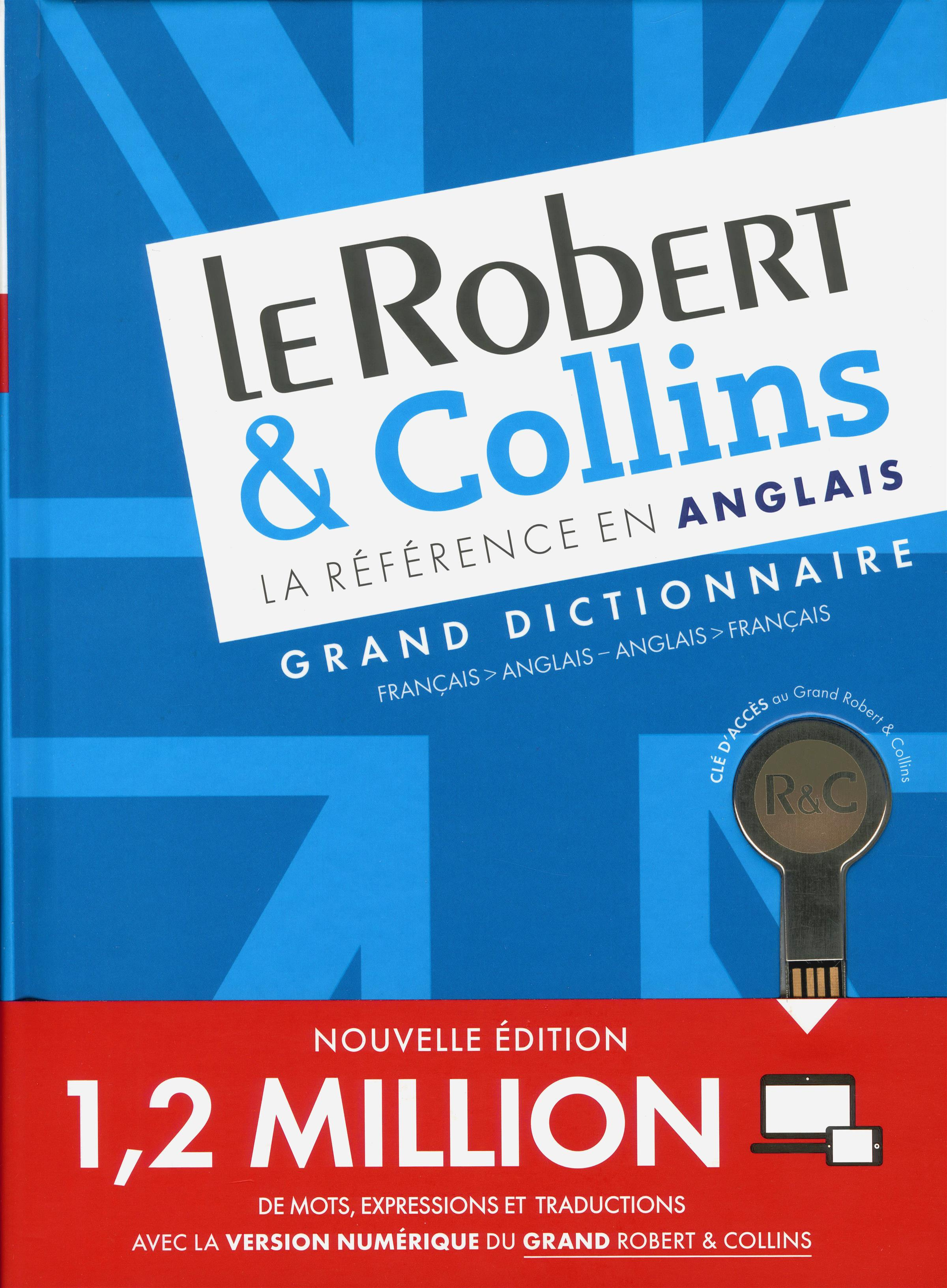 livre le robert  u0026 collins - grand dictionnaire - fran u00e7ais-anglais