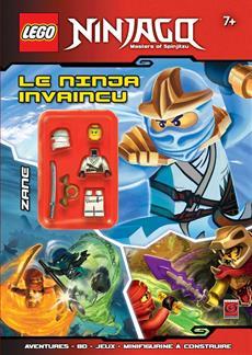 Livre Lego Ninjago Le Ninja Invaincu Messageries Adp