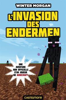 Livre Minecraft Invasion Enderm Messageries Adp