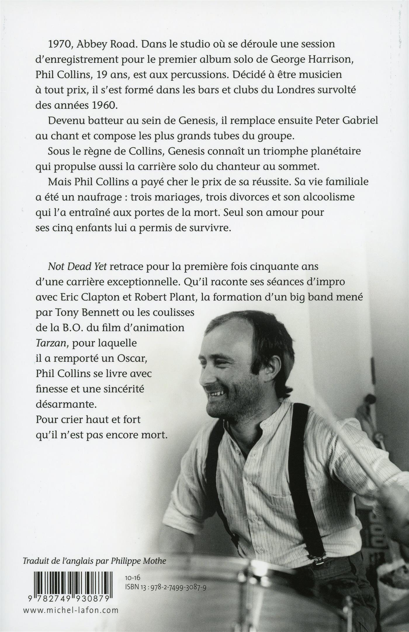 Livre Not dead yet - L autobiographie   Messageries ADP 9d03dcbaba0
