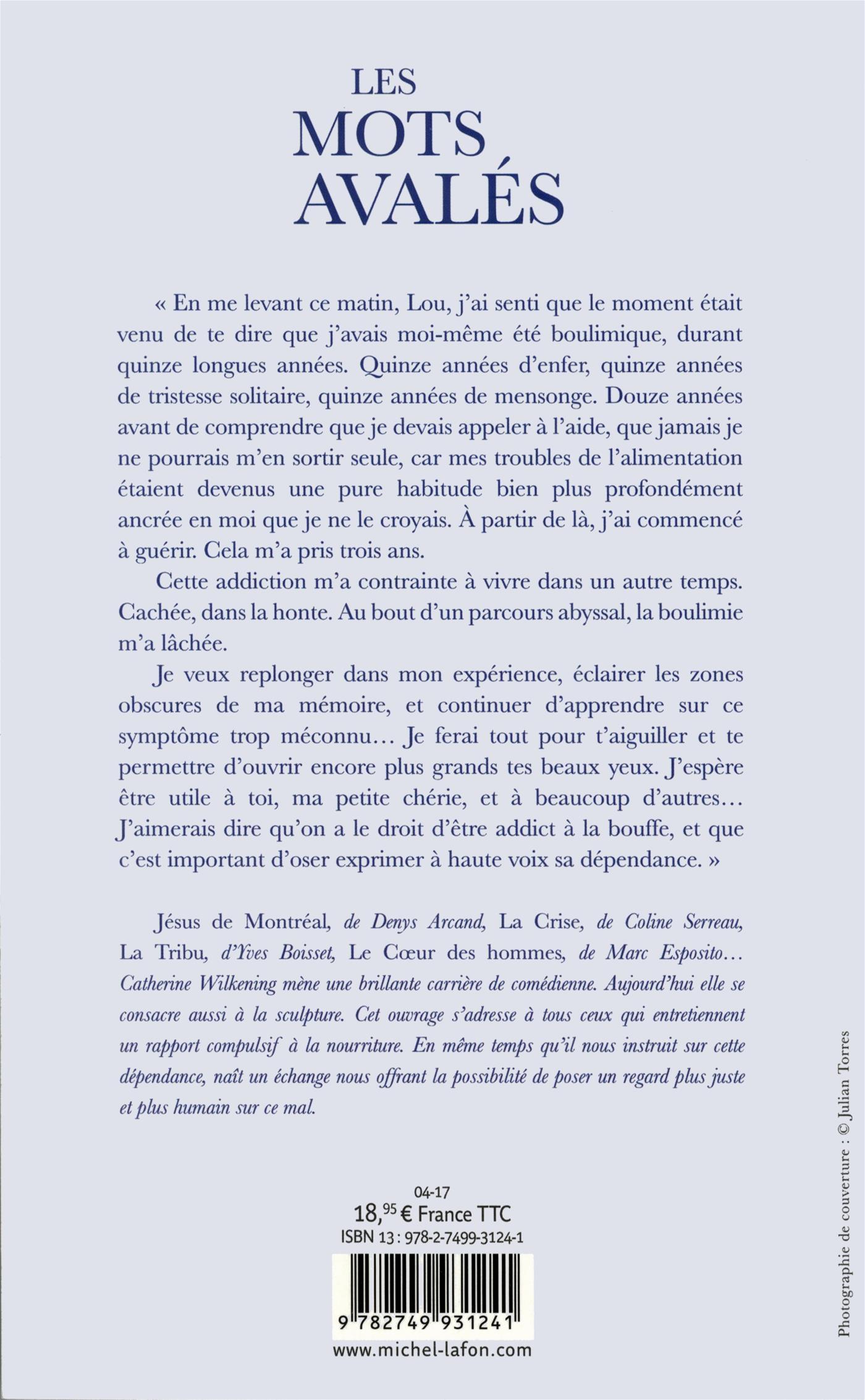 Livre LES MOTS AVALÉS - Parcours d une vorace   Messageries ADP 099e6cf533e