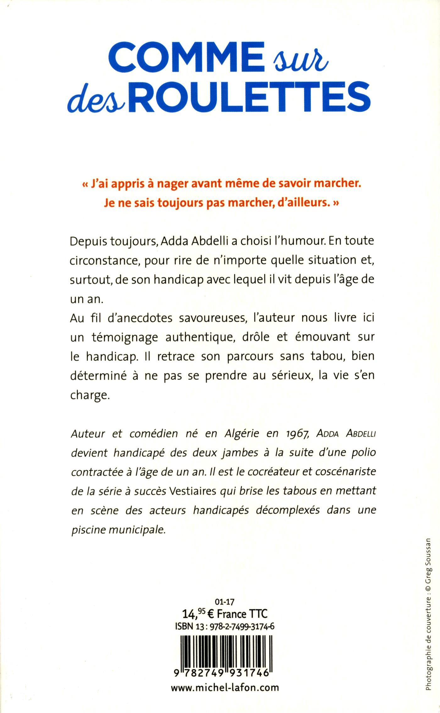 Livre COMME SUR DES ROULETTES   Messageries ADP 176d96deaf9