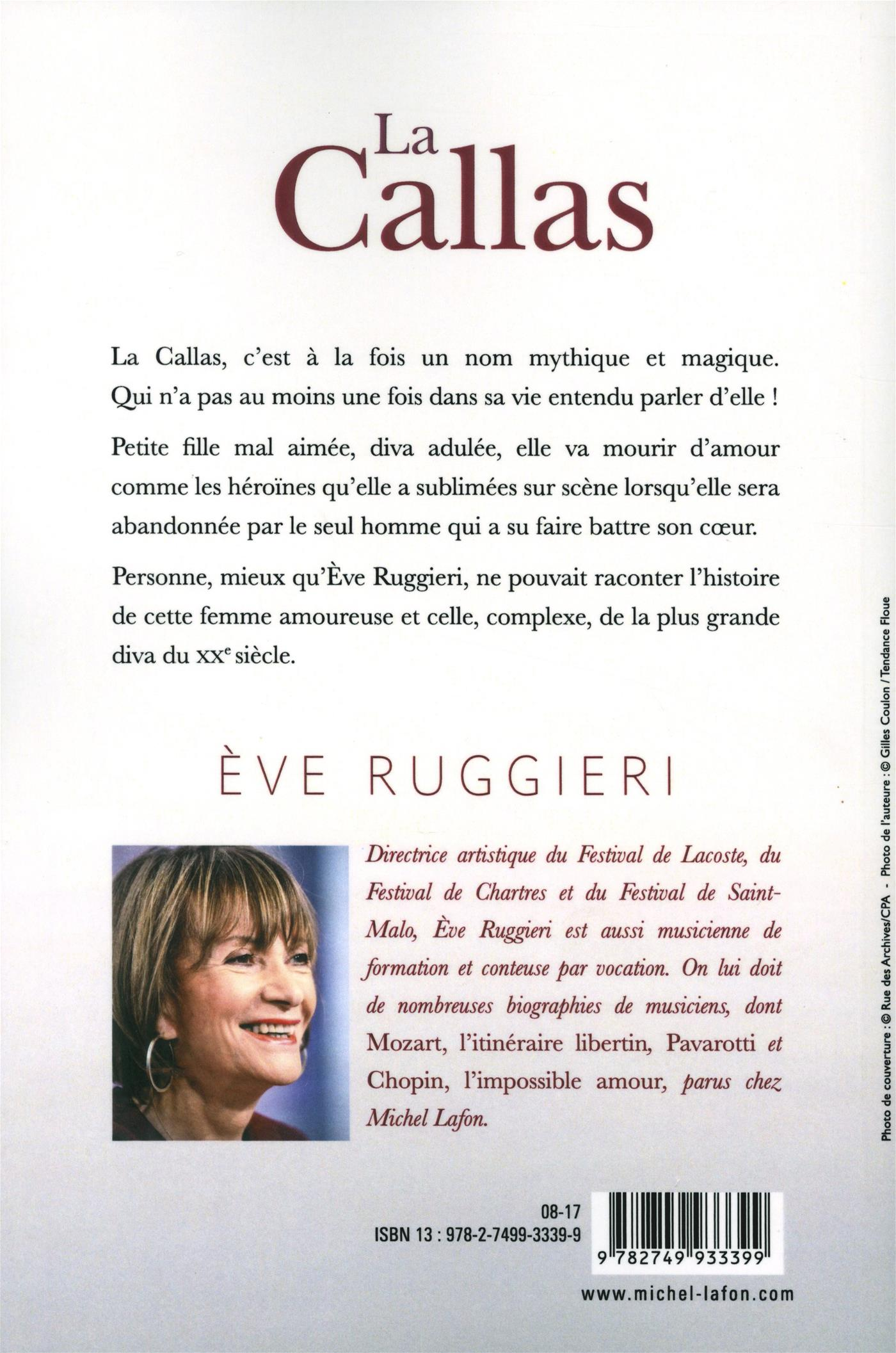 Livre La Callas   Messageries ADP 6ae6ac26c57