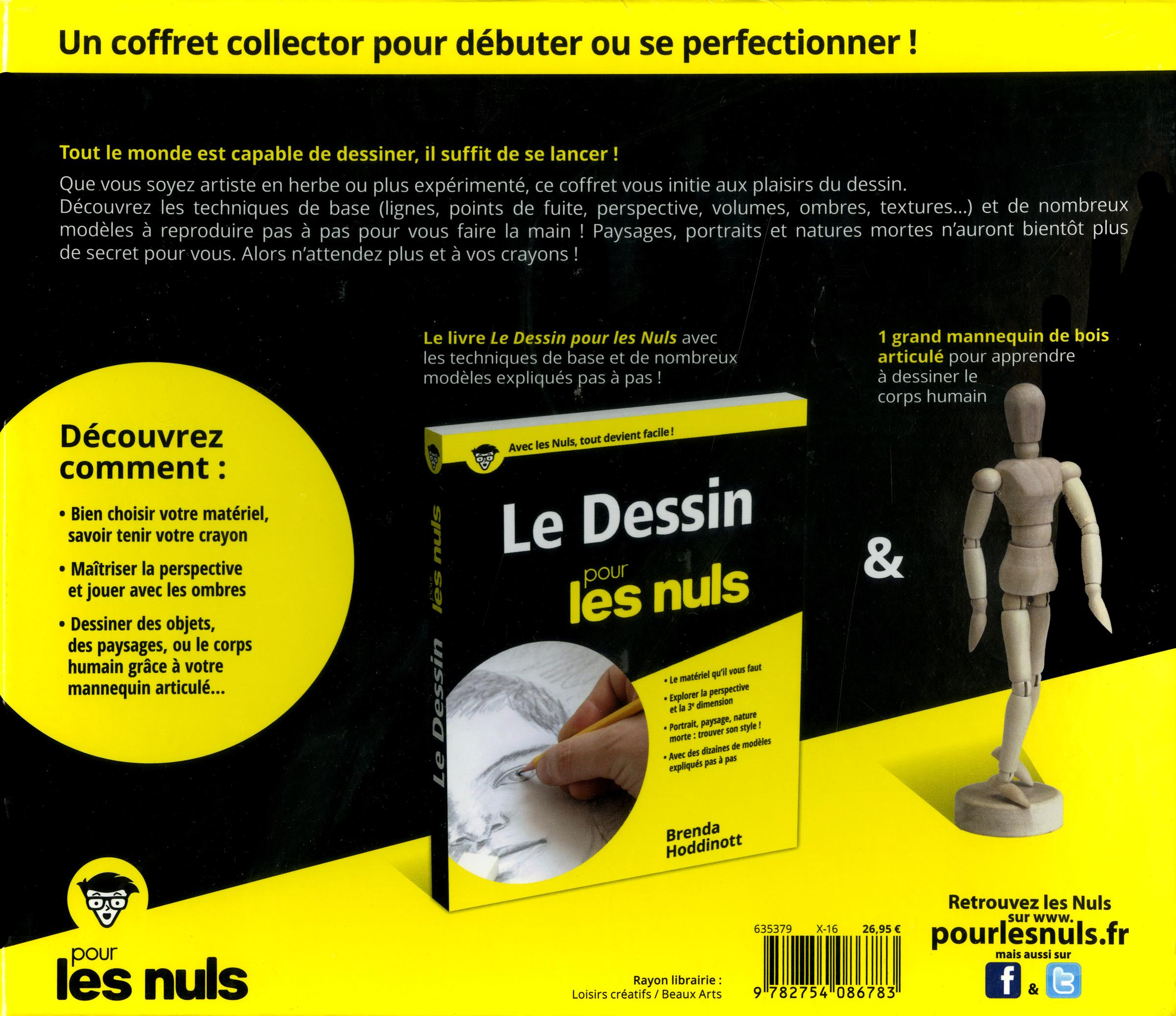 livre coffret le dessin pour les nuls messageries adp. Black Bedroom Furniture Sets. Home Design Ideas