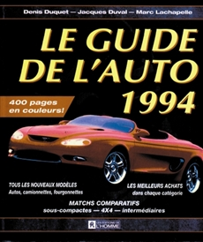 Le guide de l'auto 1994