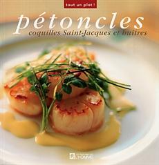 Pétoncles, coquilles Saint-Jacques et huîtres