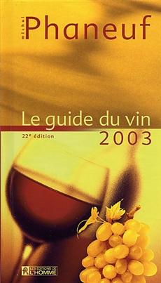 Guide du vin 2003