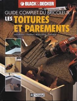 livre guide complet toitures et parements installation finition r paration entretien. Black Bedroom Furniture Sets. Home Design Ideas