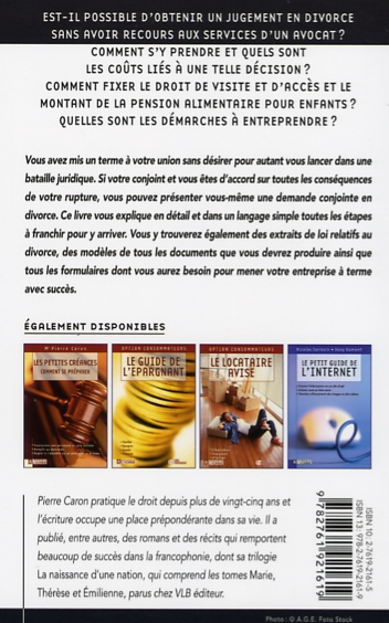 Livre Le Divorce Sans Avocat Les Editions De L Homme