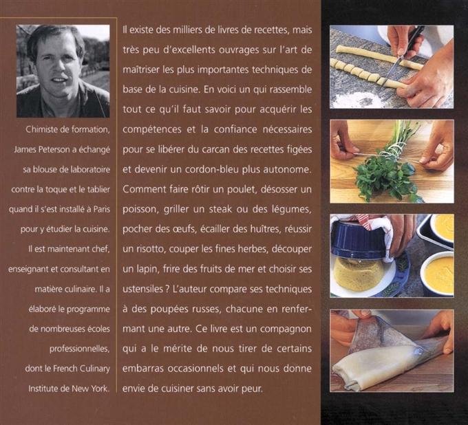 Livre savoir cuisiner apprendre et ma triser 250 techniques et recettes de base les ditions - Apprendre les bases de la cuisine ...