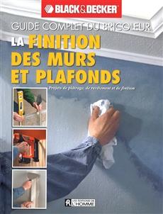 La finition des murs et plafonds