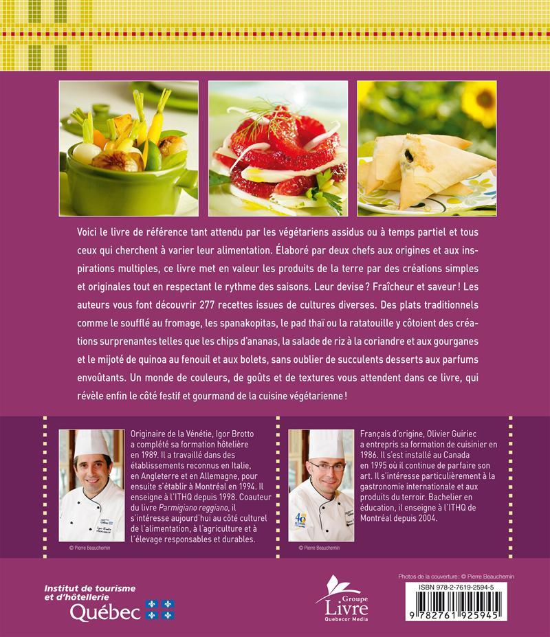 livre le grand livre de la cuisine végétarienne | les Éditions de ... - Formation Cuisine Vegetarienne