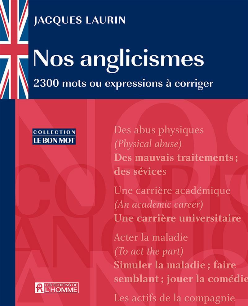 Nos anglicismes