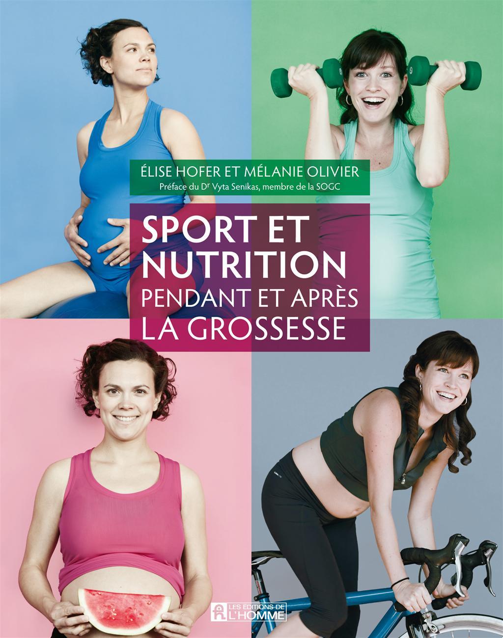 Exceptionnel Livre Sport et nutrition pendant et après la grossesse | Les  YN23