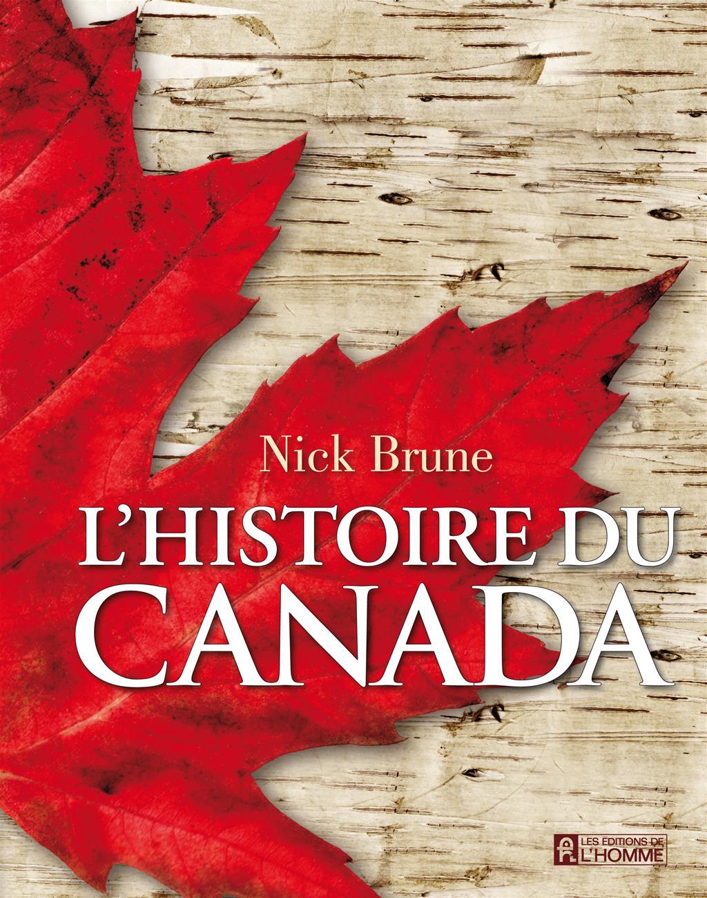 Livre L Histoire Du Canada Les Editions De L Homme