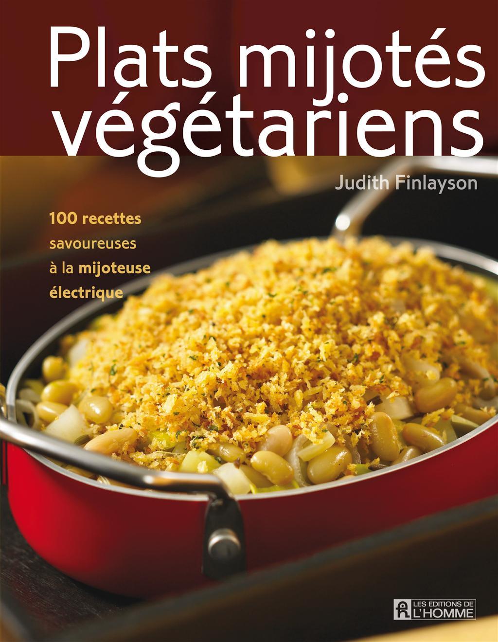 Plats mijotés végétariens