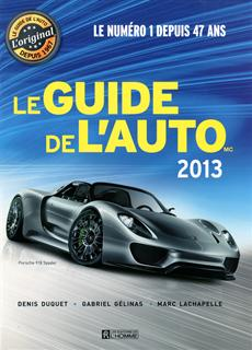 Le Guide de l'auto 2013