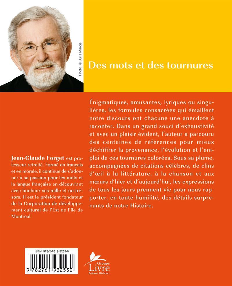 Livre num rique epub des mots et des tournures origine - Dictionnaire office de la langue francaise ...