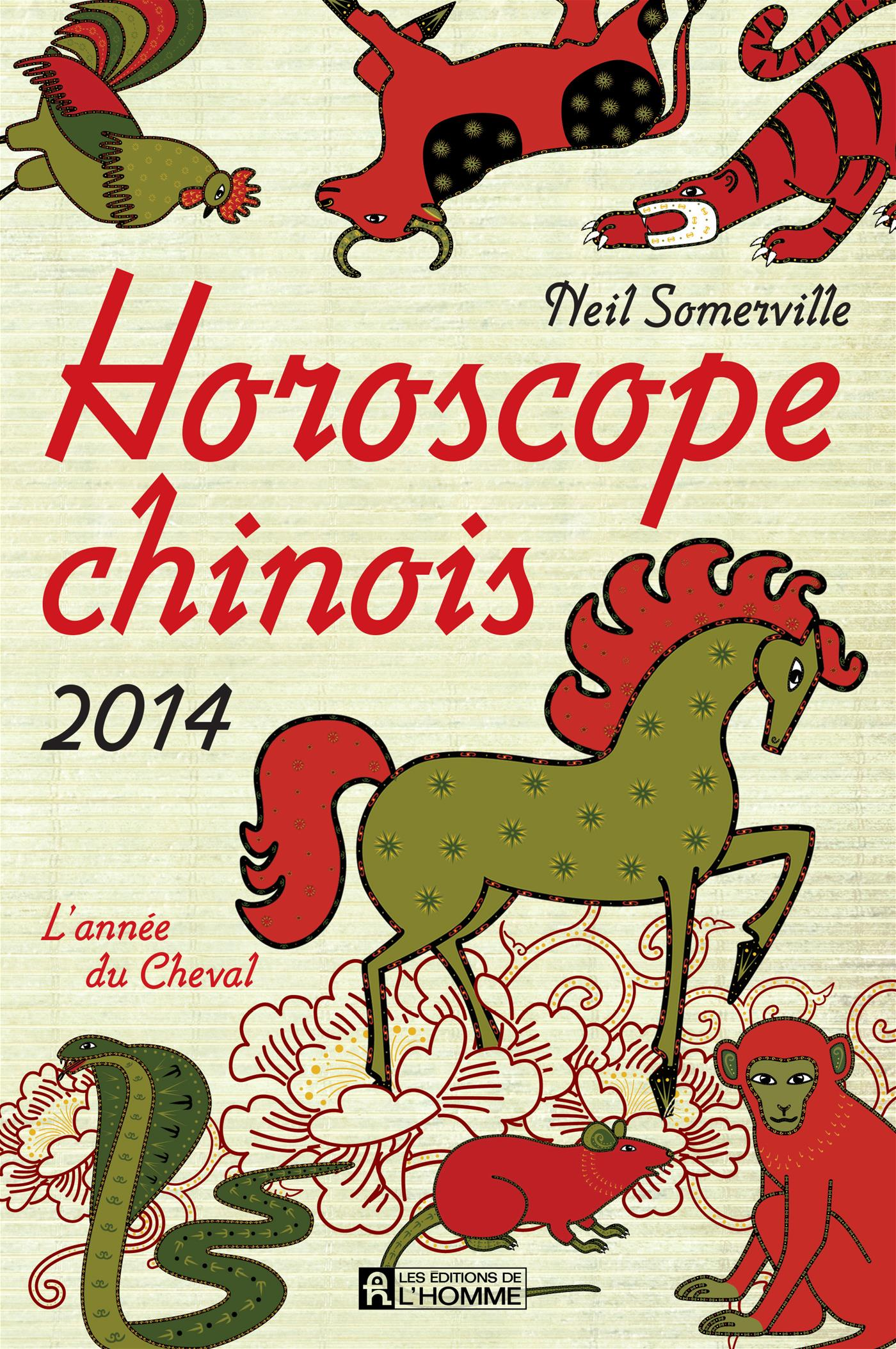 livre horoscope chinois 2014 l 39 ann e du cheval messageries adp. Black Bedroom Furniture Sets. Home Design Ideas