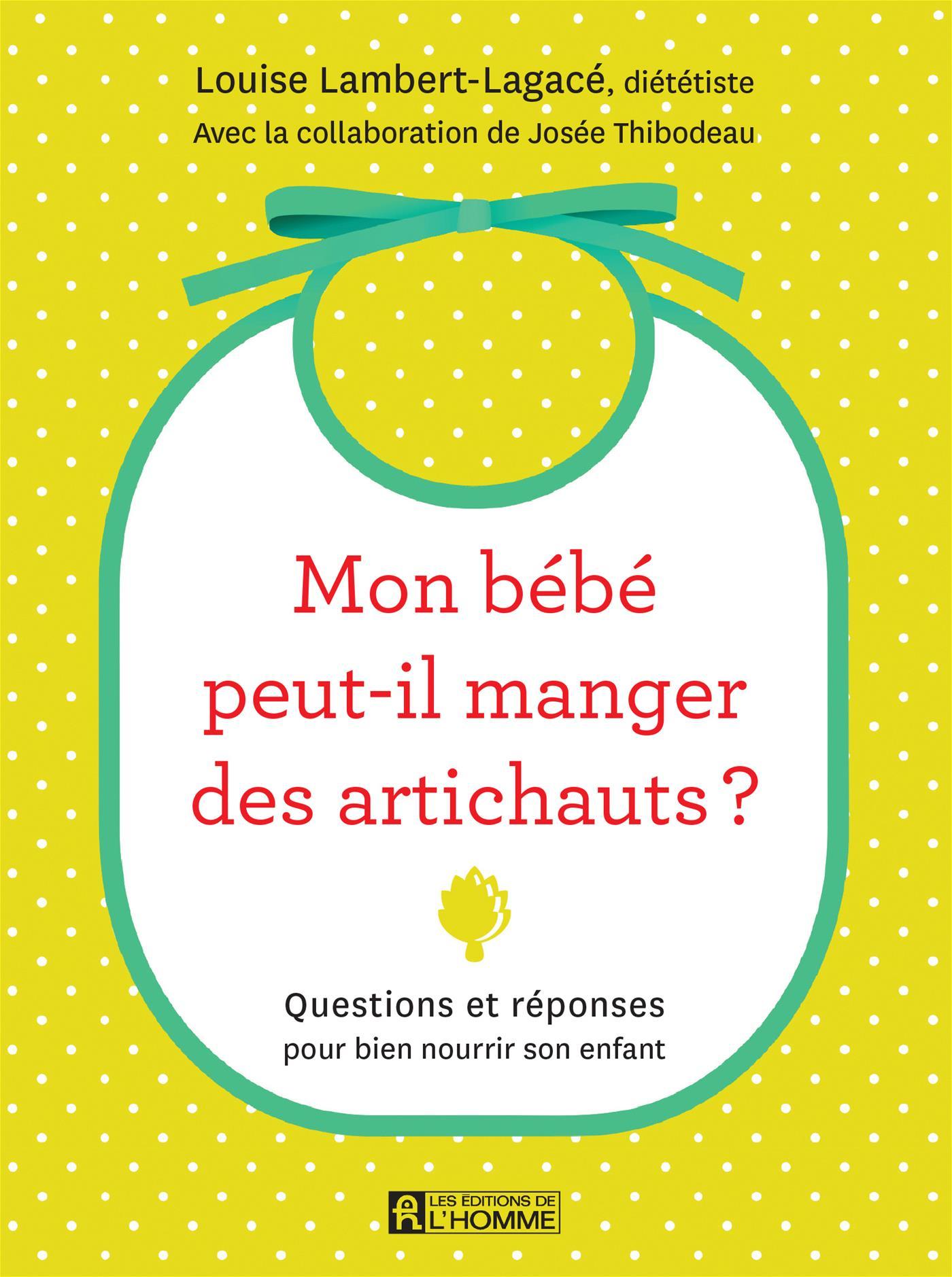 Mon bébé peut-il manger des artichauts?